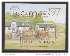 South Africa 1997 Capetown M/s ** Mnh (27091AE) - Blokken & Velletjes