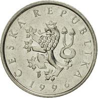 République Tchèque, Koruna, 1996, SUP, Nickel Plated Steel, KM:7 - Tchéquie