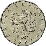 République Tchèque, 2 Koruny, 1997, SUP, Nickel Plated Steel, KM:9 - Tschechische Rep.