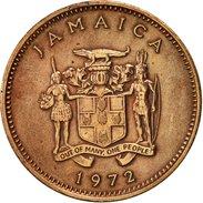 Jamaica, Elizabeth II, Cent, 1972, Franklin Mint, USA, TTB, Bronze, KM:51 - Jamaique