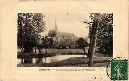 CPA Lumbres-Un Coin Du Parc De M. De Raismes (43933) - France