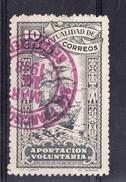 ESPAÑA 1948. MUTUALIDAD DE CORREOS. 10 Cts. CARABELA NAVEGANDO. USADO. CECI 2.29 - Bienfaisance