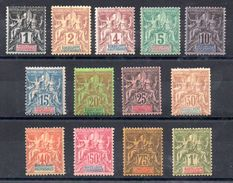 GUADELOUPE - YT N° 27 à 39 - Neufs * - MH - Cote: 250,00 € - Unused Stamps