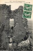 39 JURA - ORGELET Environs, Ruines Du Château De La Tour Du Meix - Non Classificati