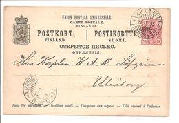 Finland. Postikortti Postkort Michel 25- K.P.X.P. 7 - Postal Stationery
