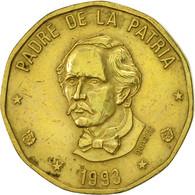 Dominican Republic, Peso, 1993, TTB+, Laiton, KM:80.2 - Dominicaine