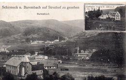 Schirmeck U. Barembach Auf Struthof Zu Gesehen - Schirmeck