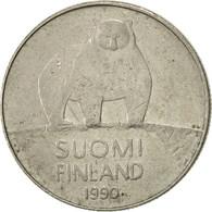 Finlande, 50 Penniä, 1990, TTB, Copper-nickel, KM:66 - Finlande