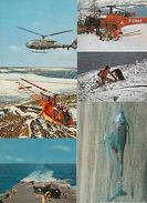 HÉLICOPTERE HELICOPTER AVIATION AIRCRAFT 27 Cartes Postales 1900-1970 - 500 Postcards Min.