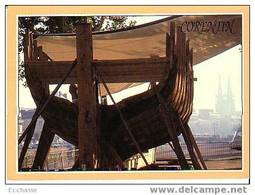 9 77 36 Quimper Finistere Construction De Corentin Le Lougre De L'odet Etat Aout 1990 - Visvangst