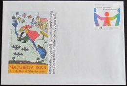DEUTSCHLAND 2003 Mi-Nr. USo 57 GANZSACHE Najubria Oberhausen Ungebraucht - Sobres - Nuevos