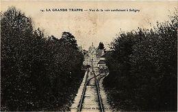 CPA   La Grande Trappe - Vue De La Vole Conduisant A Soligny   (356179) - Frankrijk