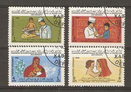 Afghanistan - 1985 - Protection De La Petite Enfance - Série Complète° - 1142/45 - Afghanistan