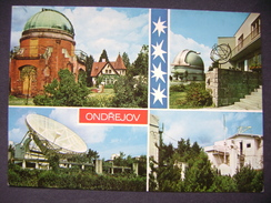 Czechoslovakia: ONDREJOV - Observatory - Solar Telescope, Spectrohelioscope - 1970s Unused - Czech Republic