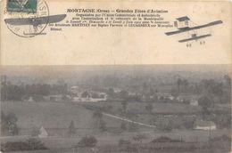 61-MORTAGNE- GRANDES FÊTES D'AVIATION - Mortagne Au Perche