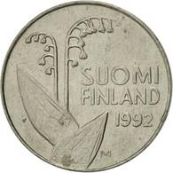 Finlande, 10 Pennia, 1992, SUP, Copper-nickel, KM:65 - Finlande