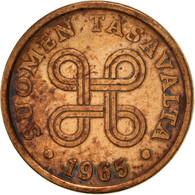 Finlande, 5 Pennia, 1966, TTB, Cuivre, KM:45 - Finlande