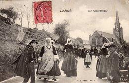 LE JUCH   Vue Panoramique  2 Scans - France