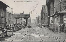 42 ST ETIENNE ACIERIES BARROUIN INTERIEUR  OUVRIERS  47 - Saint Etienne