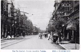 French Concession - Tien Tsin En 1929 - Chine