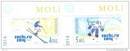 2014.  Moldova, Winter Olympic Games Sochi, Set, Mint/** - Winter 2014: Sochi