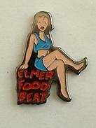 PIN'S ELMER FOOD BEAT - FEMME EN BLEU - Music