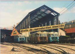 Autorails Renault ABH Des Chemins De Fer De Provence, à Nice-Gare Du Sud (06) - - Estaciones Con Trenes