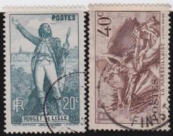 France   .    Yvert      .      314/315      .         O   .         Oblitéré - Frankrijk