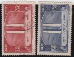 France   .    Yvert      .      316/317        .         O   .         Oblitéré - Frankrijk