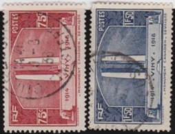 France   .    Yvert      .      316/317        .         O   .         Oblitéré - Used Stamps