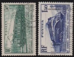 France   .    Yvert      .      339/340     .         O   .         Oblitéré - Frankrijk