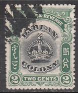 LABUAN     SCOTT NO. 100    USED     YEAR  1902 - Groot-Brittannië (oude Kolonies En Protectoraten)