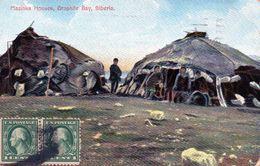 Mazinka Houses, Graphite Bay, Siberia En 1921 - Russie