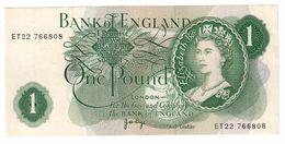 Great Britain 1 Pound 1963 XF Central Fold - 1952-… : Elizabeth II