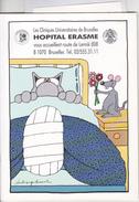 Hopital Erasme Brochure D'accueil Illustrée Par Ph. Geluck - Medisch En Tandheelkundig Materiaal