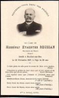 FAIRE-PART Du Décès De Monsieur Hyacinthe Roussan Le 23 Novembre 1917 - Obituary Notices