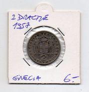 Grecia - 1957 - 2 Dracme - (MW304) - Grecia