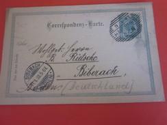 1903 Hainburg Österreich 1850-1918 Imperium-Briefmarken Europa Ganzsachen-Autriche Entier Postaux-Biberach Baden - Stamped Stationery