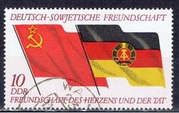 DDR+ 1972 Mi 1759 Flaggen - Gebraucht