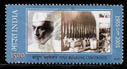 India 2005 50th Anniversary Of Bandung Conference Jawaharlal Nehru Used Stamp # A:131 - India