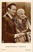 Douglas Fairbanks Jr.-Billie Dove CPA Film Stars (326804) - Acteurs