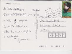 Francia Serie Pittura 2012 Su Carta Postale - France