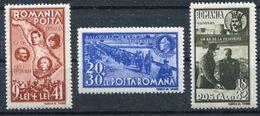Rumänien Wiedereingliederung Bessarabien Mi. 749-751 **  50000 Sätze Siehe Bild - 1918-1948 Ferdinand, Carol II. & Mihai I.