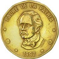 Dominican Republic, Peso, 1997, TTB+, Laiton, KM:80.2 - Dominicaine