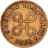 Finlande, Penni, 1966, TTB, Cuivre, KM:44 - Finlande
