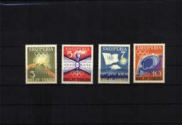 Albanien / Albania Michel 823-826 Postfrisch / MNH - Sommer 1964: Tokio