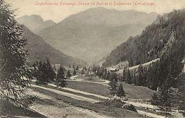 Italie CPA Serpentinen Der Falzarego (c8899) - Zonder Classificatie