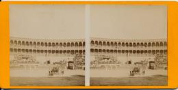 Madrid, Las Ventas, Corrida, 1904 - Fotos Estereoscópicas