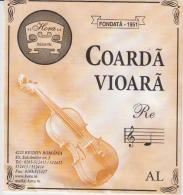 Romania Reghin Violin Strings Envelope Label Empty - Accessories & Sleeves