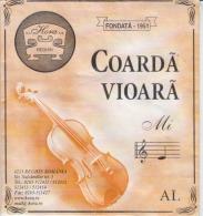 Romania Reghin Violin Strings Envelope Label Empty - Zubehör & Versandtaschen